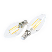 LED žárovka E14 DIMF4W FILAMENT C35