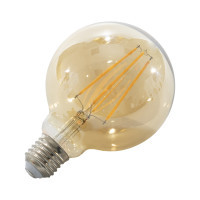 LED žárovka E27 EKF4W G95 FILAMENT kulatá