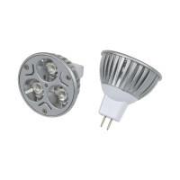 Barevná LED žárovka MR16