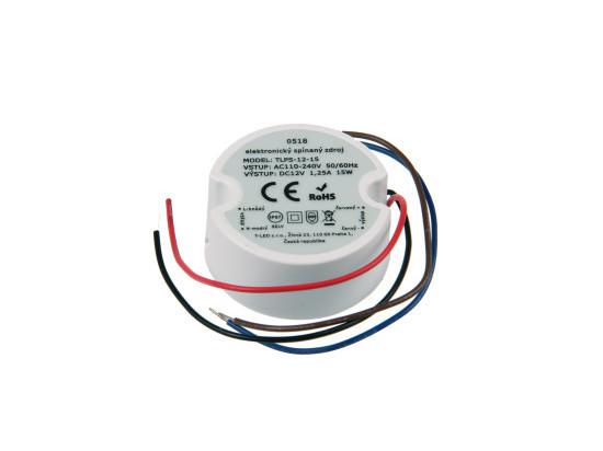 LED zdroj 12V 15W IP67