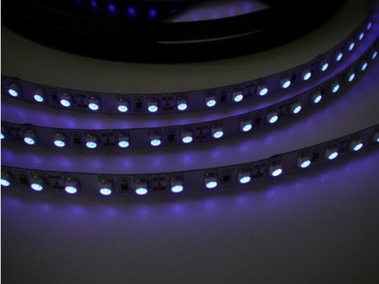 UV LED pásek 9,6W original UV čip