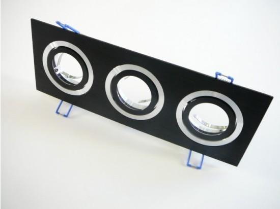 Podhledový rámeček D10-3B černý