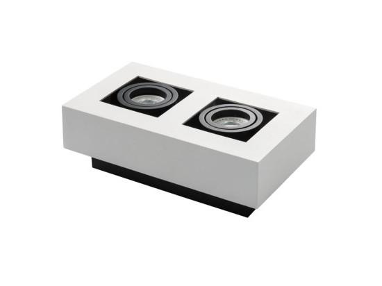 Přisazené svítidlo STOBI 250-W bílé