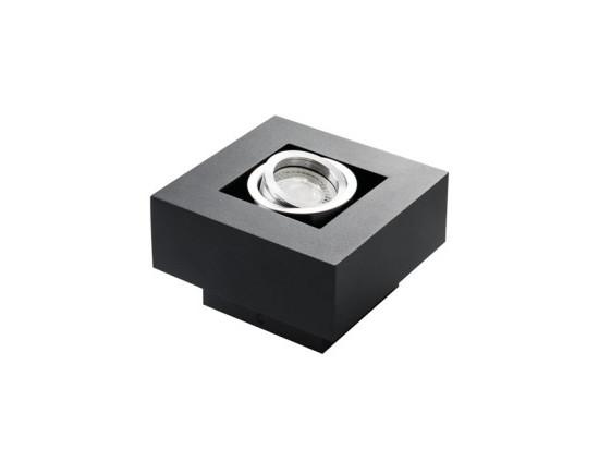 Přisazené svítidlo STOBI 50-B černé