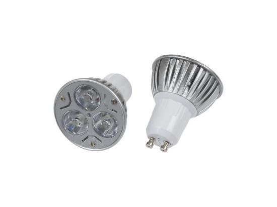 Barevná LED žárovka GU10