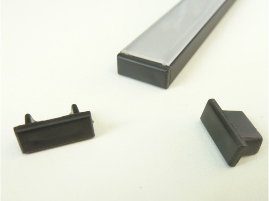 Koncovka profilu Mikro 2 černá