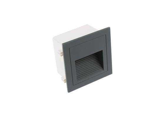 LED vestavné svítidlo LOPEN-G-IP65 šedé