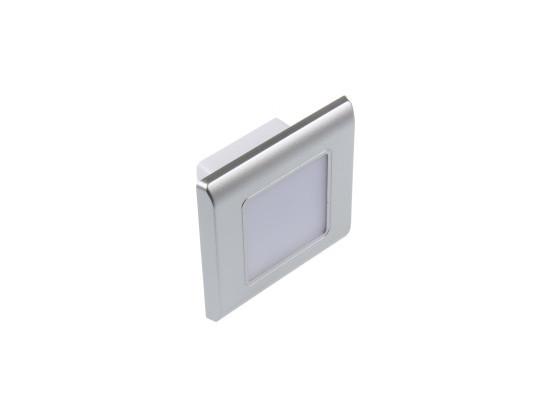 LED vestavné svítidlo RAN-S stříbrné