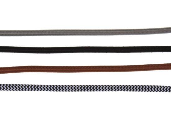 Textilní kulatý kabel 3x0,75