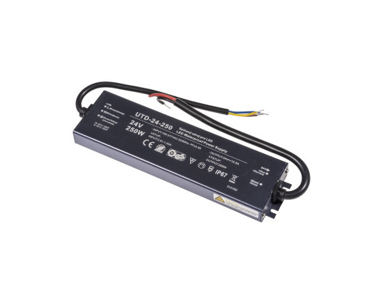 LED zdroj 24V 250W UTD-24-250 Záruka 5 let