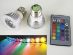 LED žárovka RGB16-2 E27 60°