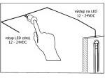 Dotykový stmívač ZDS1 12-24V