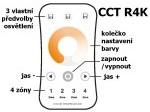 Ovladač dimLED OVS CCT R4K