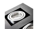 Přisazené svítidlo STOBI 250-B černé