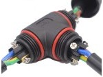 Spojka kabelová T IP68