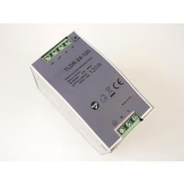 LED zdroj 24V 120W na DIN lištu