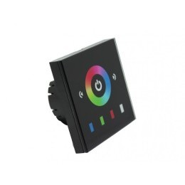LED dotykový panel RGB 8E černý