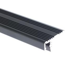 LED profil ST schodišťový černý
