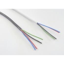 RGB kabel 4x0,5 kulatý