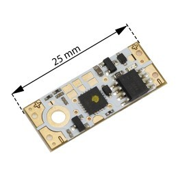 Dotykový mikro stmívač pro LED pásky do profilu