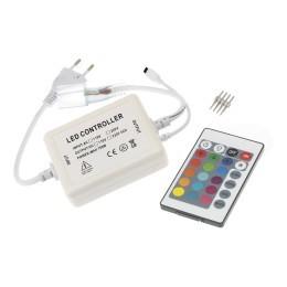 LED ovladač NEON RGB 230V-IR24