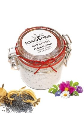 Polní květy - sprchový krém Soaphoria