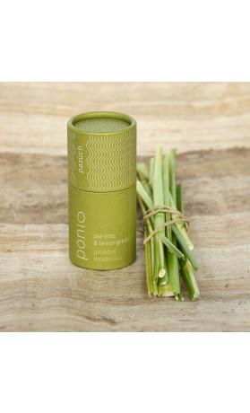 Ponio Tea tree a lemongras, přírodní deodorant