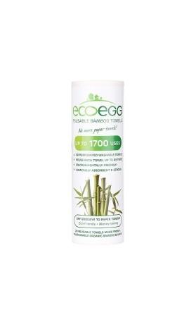 Ecoegg Bambusové utěrky 20 kusů na 1700 použití 28 cm