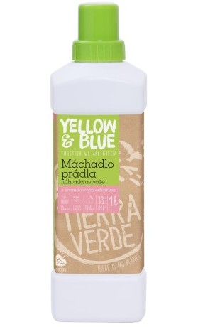 Yellow&Blue Máchadlo prádla s levandulovým extraktem
