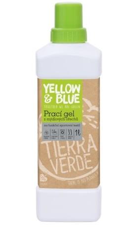 Yellow&Blue Prací gel z mýdlových ořechů na funkční sportovní textil s koloidním stříbrem
