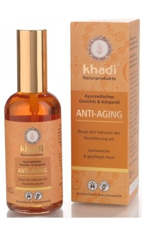 Khadi pleťový a tělový olej ANTI-AGING - PROTI STÁRNUTÍ PLETI