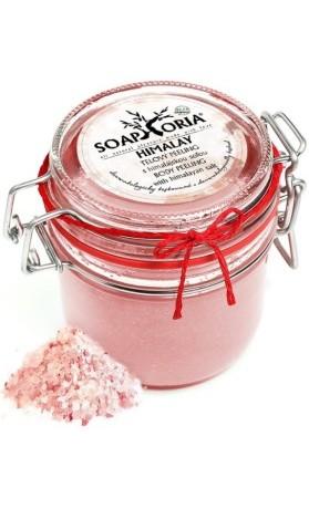 Soaphoria Himalay - organický tělový peeling s himálajskou solí