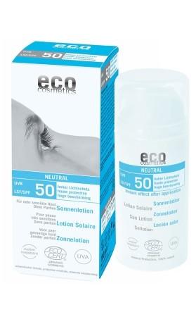 Eco Cosmetics Opalovací krém Neutral bez parfemace SPF 50 BIO