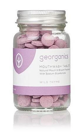 Georganics Tablety na osvěžení dechu - Wild Thyme (divoký tymián)
