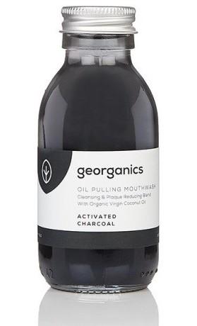 Georganics Ústní voda na olejové bázi - Activated Charcoal (aktivní uhlí)