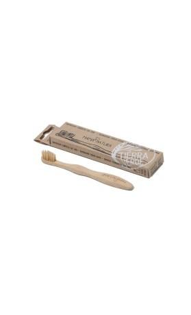 Mama natura Dětský bambusový kartáček na zuby měkký – soft mini