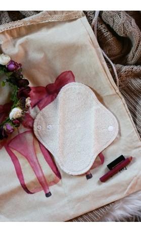 LalaH Slipová menstruační vložka látková / BIO beránek PUL (20 cm)
