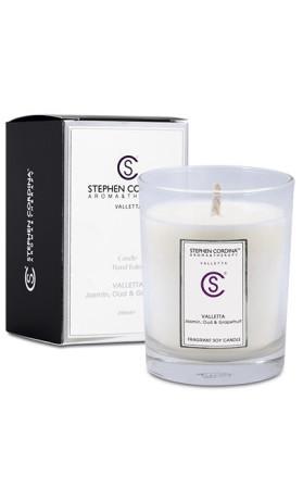 Aroma&Therapy by Stephen Cordina Přírodní sójová svíčka - Valletta
