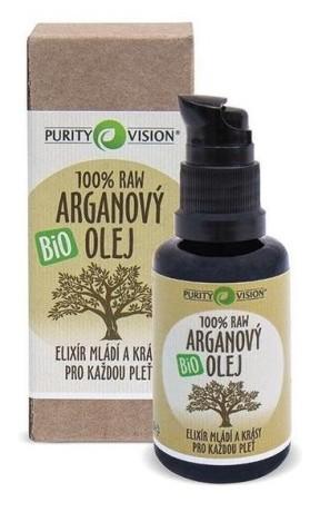 PURITY VISION Raw Arganový olej Bio malý