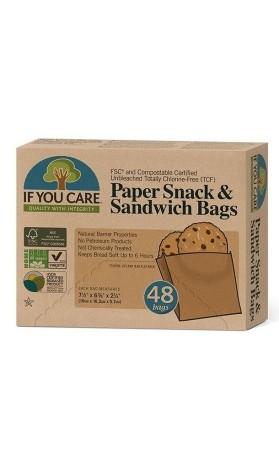IF YOU CARE Sáčky na sandwich (48 ks)