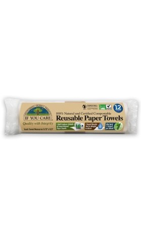 IF YOU CARE Papírové utěrky 12 ks