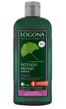 Logona BIO Regenerační šampon pro poškozené a suché vlasy Ginkgo
