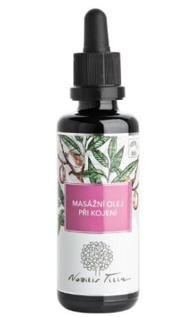 Nobilis Tilia BIO Masážní olej při kojení