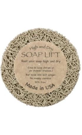 SoapLift - recyklovatelná mýdlenka z bioplastu Bone Round (průměr 89 mm)