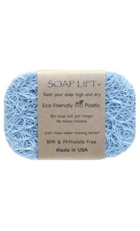 SoapLift - recyklovatelná mýdlenka z bioplastu Seaside Blue 11 x 7,5 cm