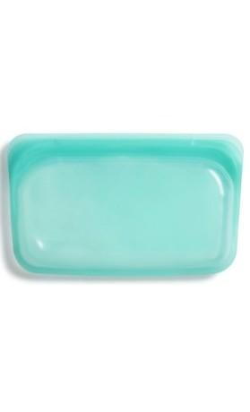 Stasher snack Aqua - opakovaně použitelný zdravý sáček vel. snack 12 x 19 cm