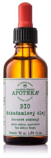 Havlíkova přírodní apotéka BIO Makadamiový olej 30 ml