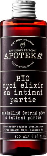 Havlíkova přírodní apotéka BIO mycí elixír na intimní partie 200 ml