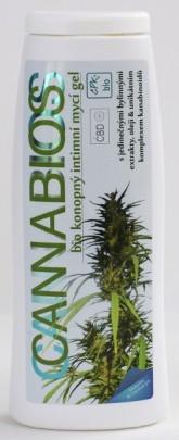 Cannabios Bio konopný intimní mycí gel Naturfyt bio