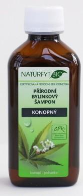 Naturfyt bio BIO konopný šampon na lupénku či ekzém